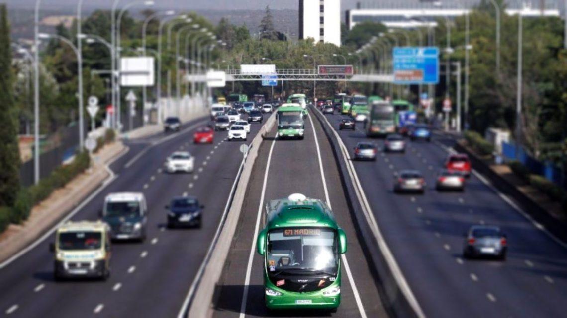 Ganemos Colmenar y Tres Cantos reclaman un Bus-VAO en la M-607