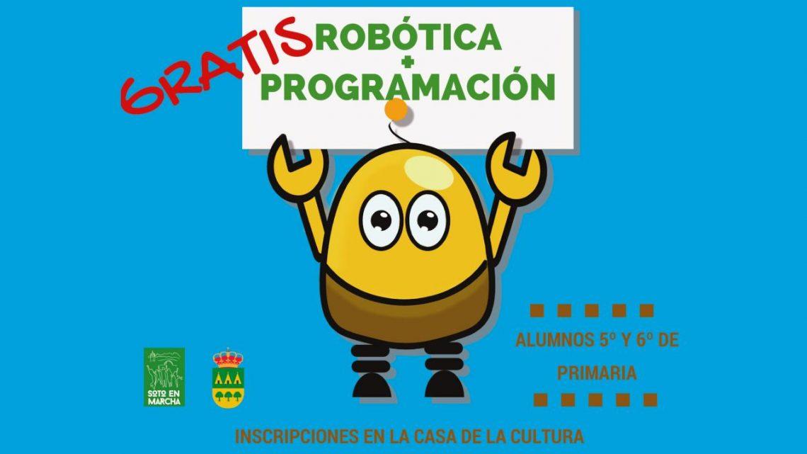 Robótica y Programación gratis para alumnos de la ESO en Soto del Real
