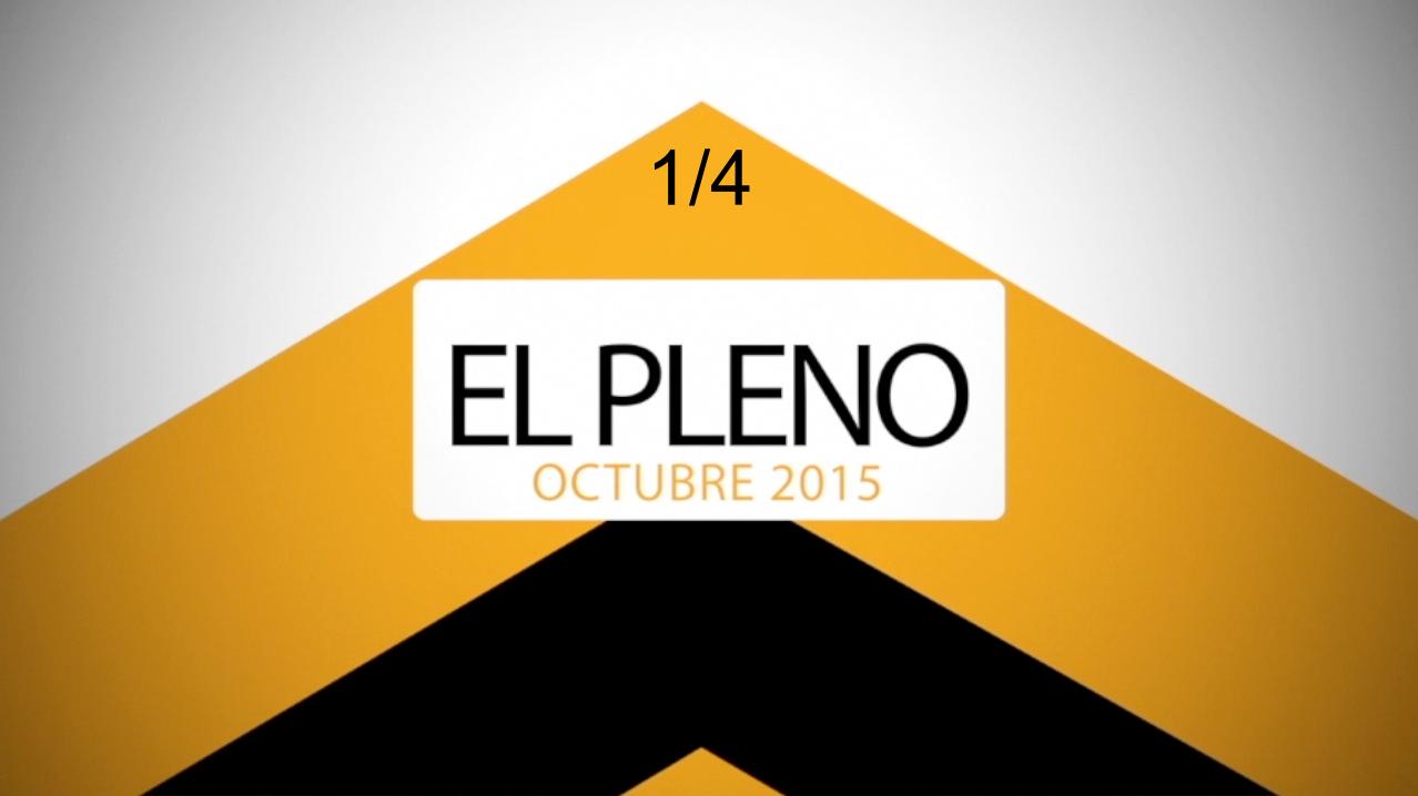 El Pleno Octubre 1-4