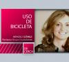 DE CERCA Lydia Martínez. Uso de la bicicleta