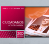 20D De Cerca. Mesa informativa de Unidad Popular. 12.12.15