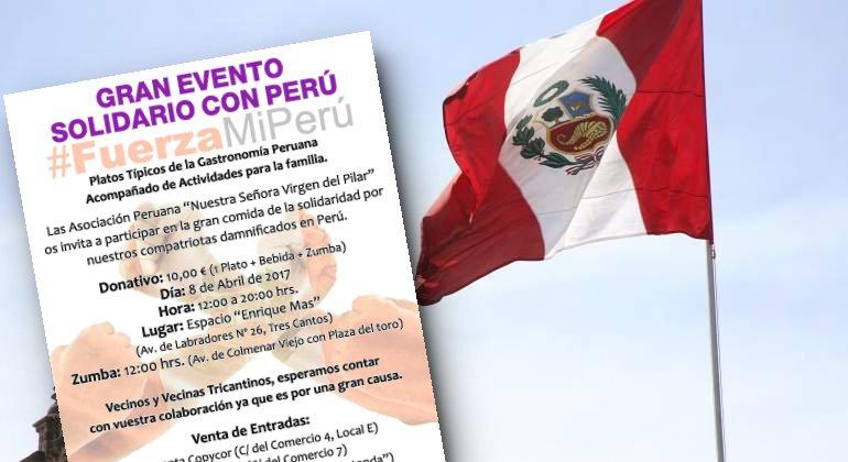 Evento solidario #FuerzaMiPerú