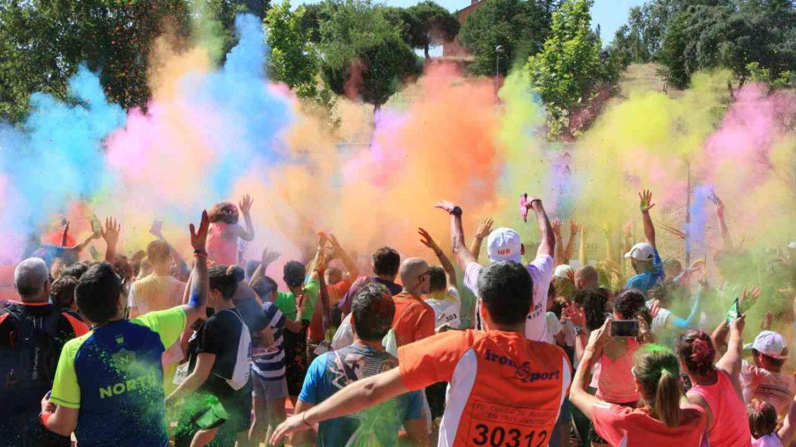 Numerosa participación en la Happy Family Run