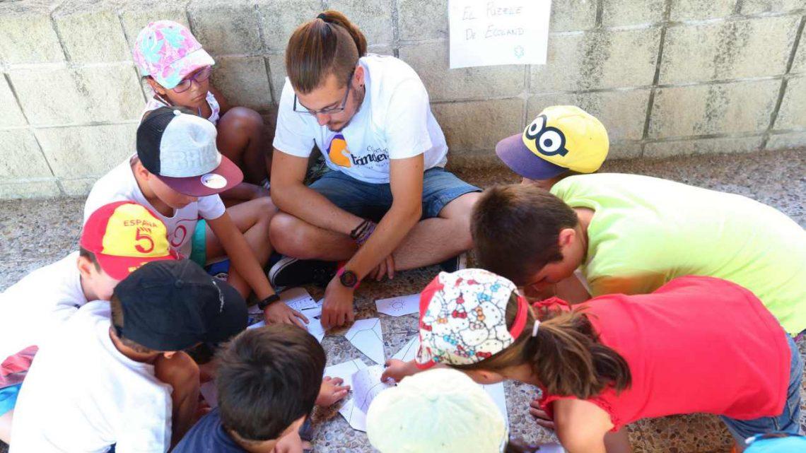 Un millar niñas y niños participan en las Colonias Urbanas de Tres Cantos