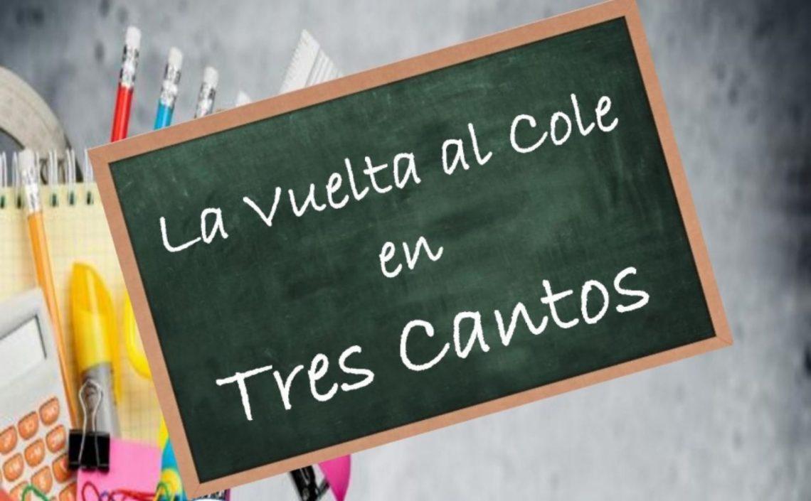 """Campaña """"Vuelta al cole"""" en Tres Cantos"""