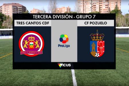 Tres Cantos CDF vs CF Pozuelo