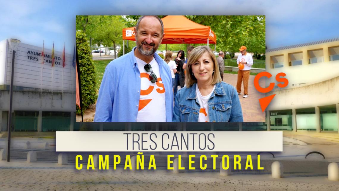Elecciones Tres Cantos 2019. Ciudadanos 19-5