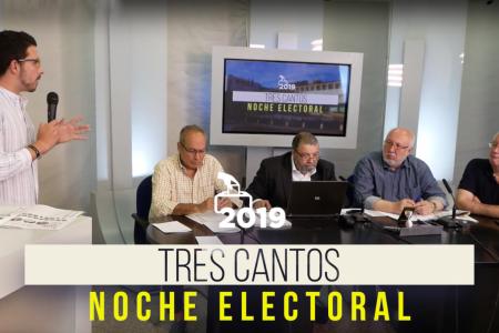 carton noche electoral rotulo