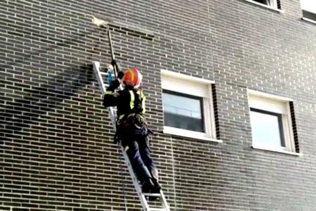 bomberos fachada