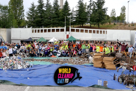 Carton World Cleanup Day Tres Cantos