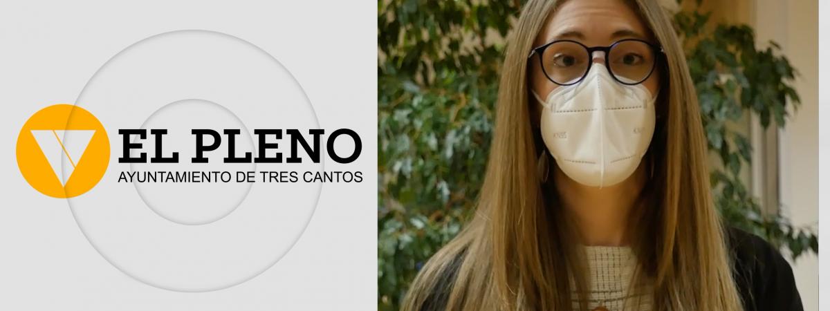 Pleno de febrero en Tres Cantos. Silvia Lucena
