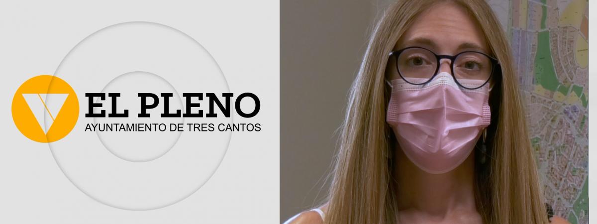 Pleno de julio del Ayuntamiento de Tres Cantos. PSOE